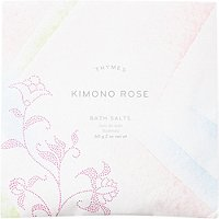 Kimono Rose Bath Salts by Thymes