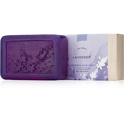 Thymes Lavender Luxurious Bar Soap