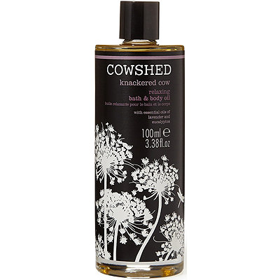 Cowshed Knackered Cow Relaxing Bath %26 Body Oil