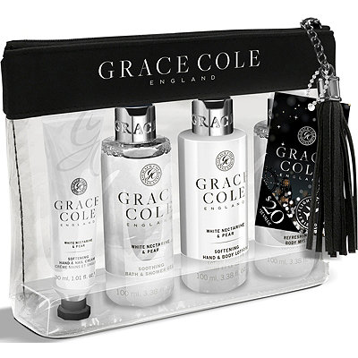 Grace Cole White Nectarine %26 Pear Travel Set
