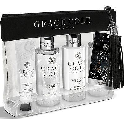 Grace ColeWhite Nectarine & Pear Travel Set