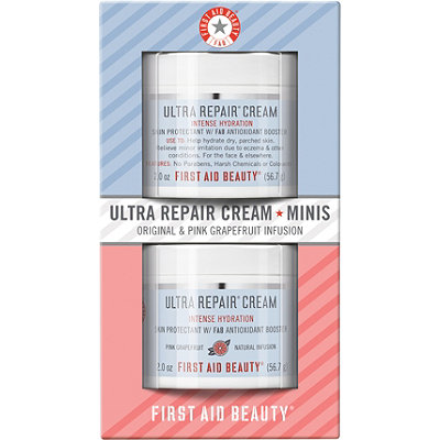 First Aid Beauty Ultra Repair Cream Minis Original %26 Pink Grapefruit Infusion