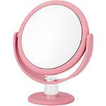 Danielle Soft Touch Round Blush Pink Vanity Mirror