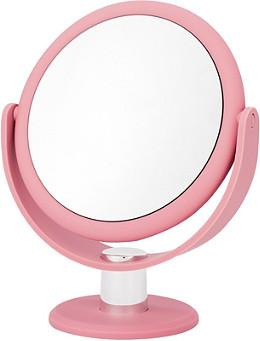 danielle soft touch round blush pink vanity mirror ulta beauty