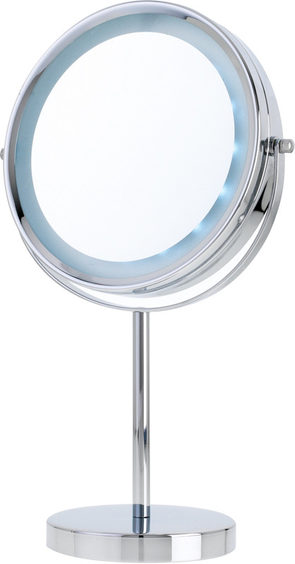 Makeup Mirror.Chrome Led Vanity Mirror