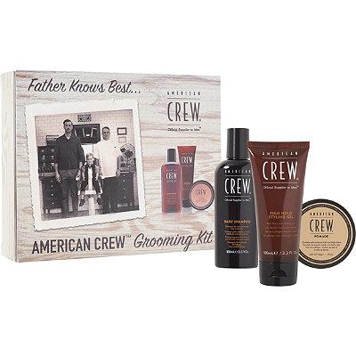 American CrewOnline Only Men%27s Grooming Kit