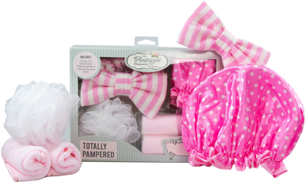 The Vintage Cosmetic Company Online Only Totally Pampered Gift Set
