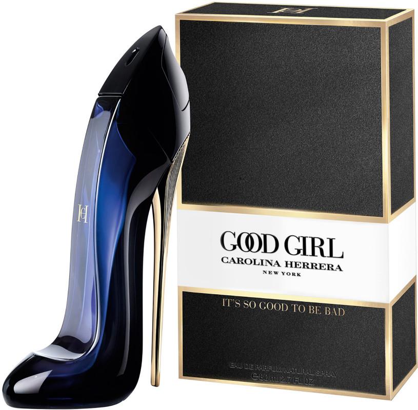 Good girl perfume blue bottle