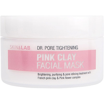 Skin & Lab Pink Clay Facial Mask