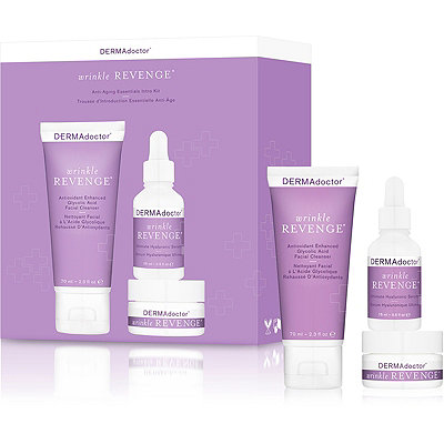Dermadoctor Online Only Wrinkle Revenge Anti-Aging Essentials Intro Kit