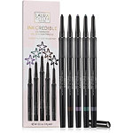 INKcredible Waterproof Gel Eyeliner Pencil 5 Pc Full Size Collection