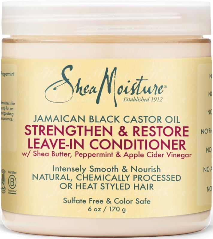 Sheamoisture Jamaican Black Castor Oil Strengthen Restore Leave In