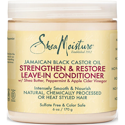 SheaMoisture Jamaican Black Castor Oil Strengthen %26 Restore Leave-In Conditioner