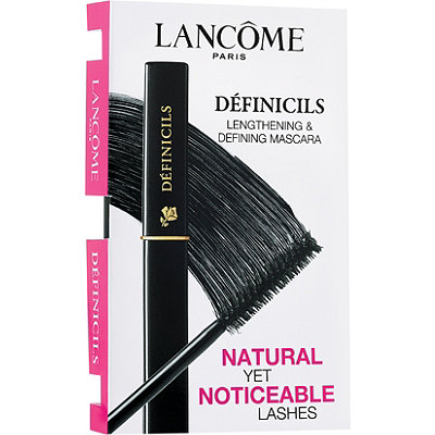 Lancôme FREE Treat%21 Receive a complimentary Definicils Mascara sample with any Lancome purchase