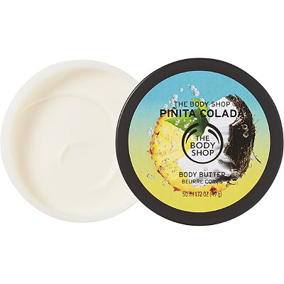 The Body Shop Online Only Travel Size Pinita Colada Body Butter