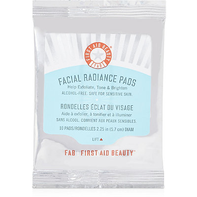 FREE Facial Radiance Pads 10 day supply w/any $35 First Aid Beauty purchase