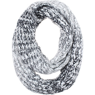 Capelli New York Ombre Loop Scarf w%2F Metallic Yarn