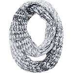 Ombre Loop Scarf w%2F Metallic Yarn