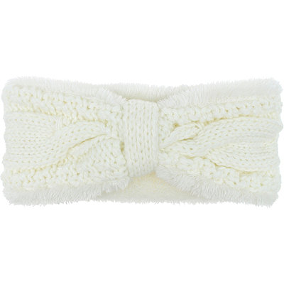 Capelli New YorkCable Bow Faux Sherpa Head Wrap