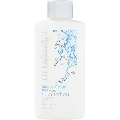 Travel Size Simply Clean Moisturizing Body Lotion