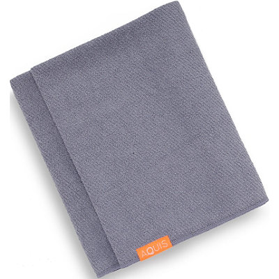 AquisOnline Only Lisse Luxe Hair Towel
