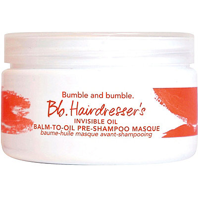 Bumble and bumbleBb.Hairdresser's Invisible Oil Balm-to-Oil Pre-Shampoo Masque