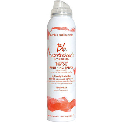 Bb.Hairdresser's Invisible Oil UV Protective Dy Oil Finishing Spray