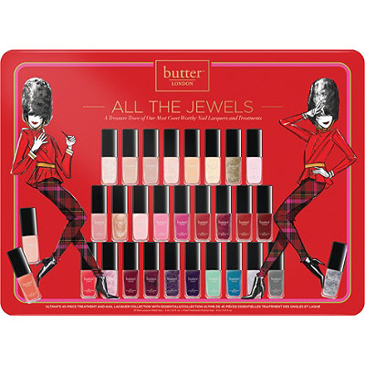 Butter London Online Only All The Jewels 45 Pc Trend Lacquer Set