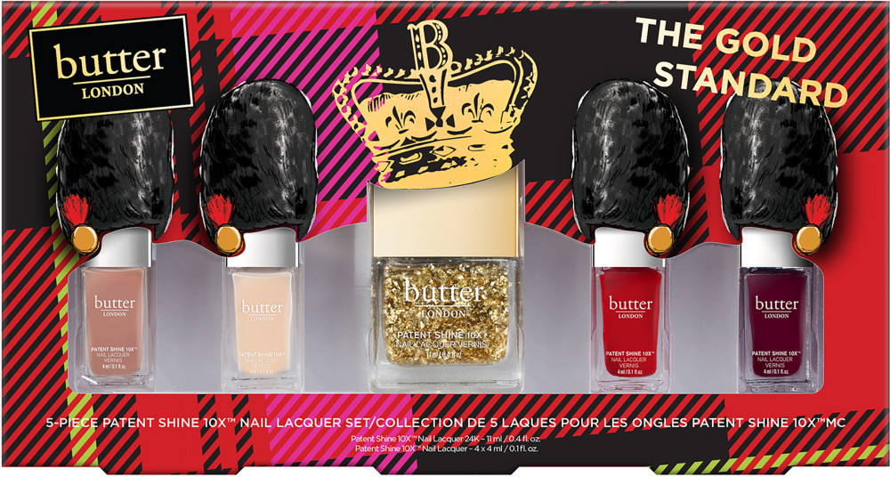 Butter London Online Only The Gold Standard 5 Pc 10X Nail Lacquer ...