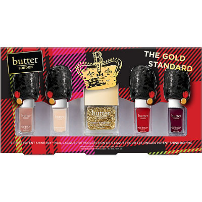 Butter LondonOnline Only The Gold Standard 5 Pc 10X Nail Lacquer Collection