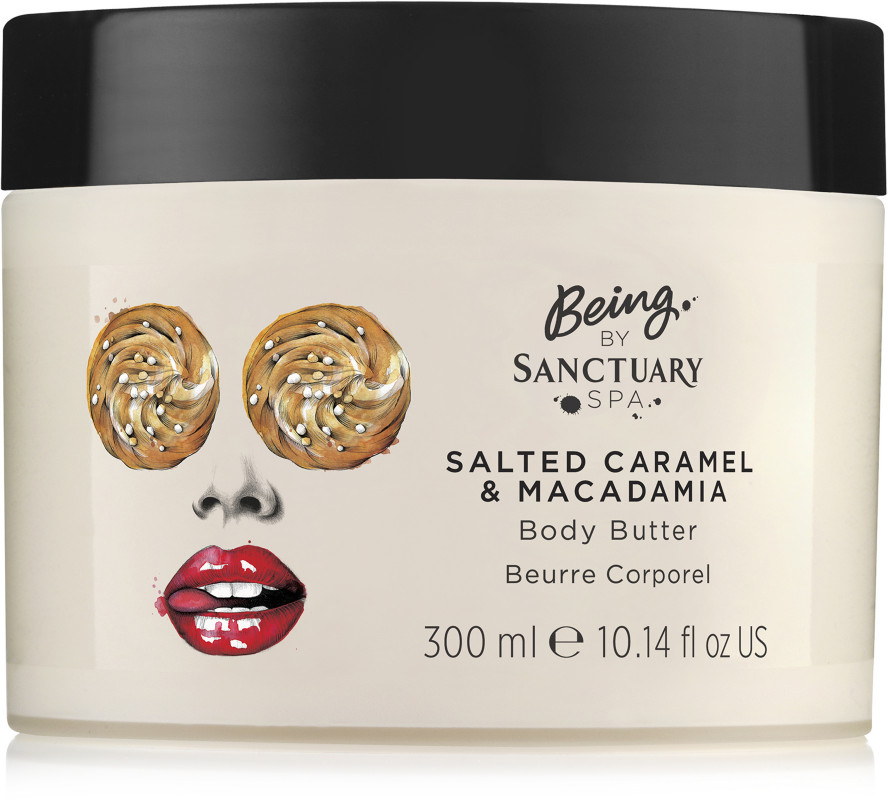 Salted Caramel &Amp; Macadamia Body Butter by Being