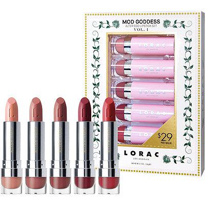 LoracMod Goddess Alter Ego Lipstick Set Vol. I
