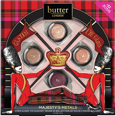 Majesty's Metals 4 Pc Glazen Eye Gloss Collection