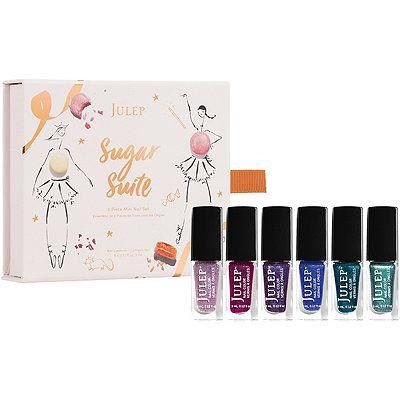 JulepOnline Only Sugar Suite 6 Pc Mini Nail Set