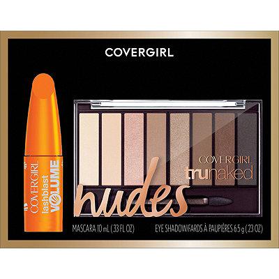 CoverGirlTruNaked Eyeshadow and LashBlast Volume Mascara Holiday Gift Set