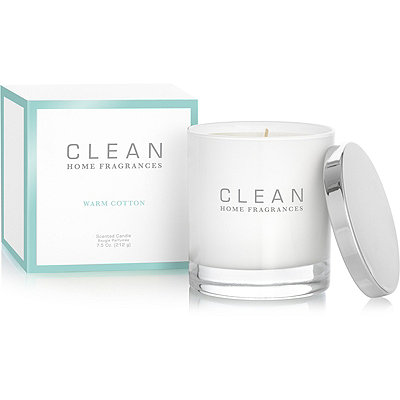 Clean Online Only Warm Cotton Scented Candle