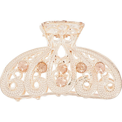 Capelli New York Stone Embellished Claw Clip