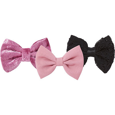 Capelli New York2 Pack Bow Clips