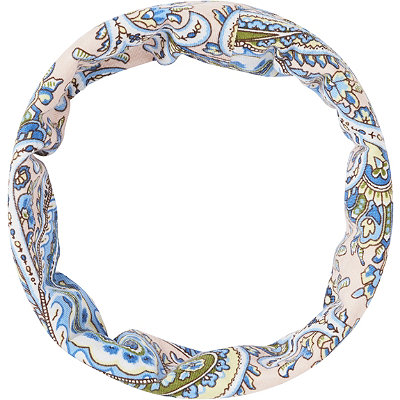 Capelli New YorkWide Floral Head Wrap