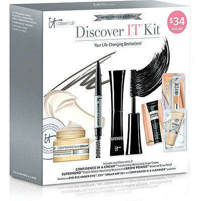 It CosmeticsFREE Discover IT Kit w%2Fany %2445 IT Cosmetics purchase