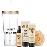 I Don't Give a Sip Tumbler & Bath Gift Set