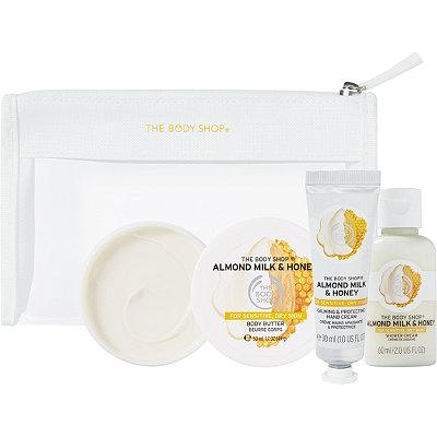 The Body ShopAlmond Milk And Honey Beauty Bag