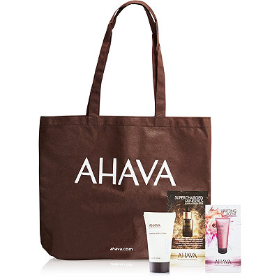 AhavaFREE Tote w/any $35 Ahava purchase