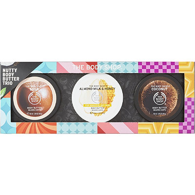 The Body Shop Nutty Body Butter Trio