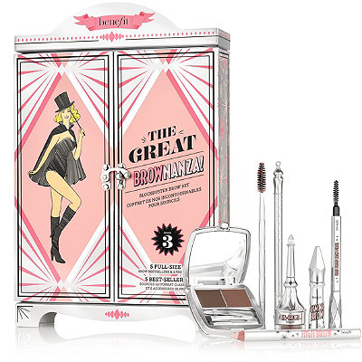 Benefit Cosmetics The Great BROWnanza%21 %22Blockbuster Brow Set%22