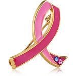 Online Only Limited Edition Collectible Commemorative 25th Anniversary Pink Ribbon Pin
