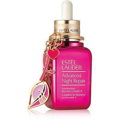 Estée Lauder Online Only Limited Edition Advanced Night Repair w%2F Pink Ribbon Keychain Collectible