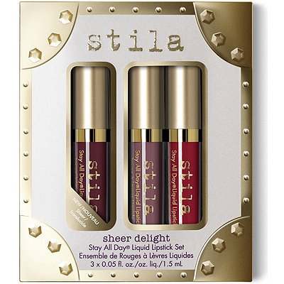 Stila Sheer Delight Stay All Day Liquid Lipstick Set