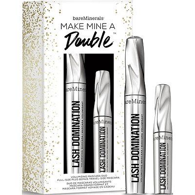 BareMineralsMake Mine a Double Volumizing Mascara Duo Full- ize Plus Bonus Travel Size Mascara