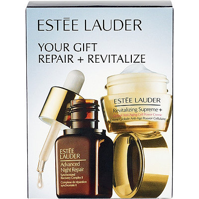 FREE deluxe Repair + Revitalize Duo w/any $35 Estee Lauder purchase